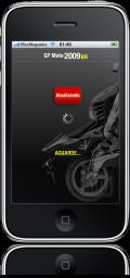 GP Moto 2009 BR no iPhone
