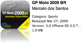 GP Moto 2009 BR na App Store