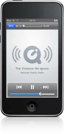 Podcast na iTunes Store do iPod touch