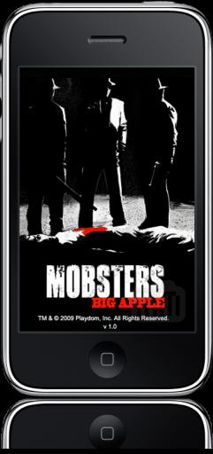Mobster da Playdom para iPhone