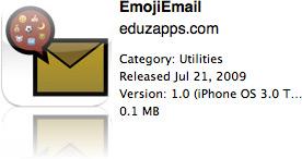 EmojiEmail na App Store