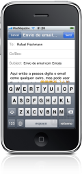 EmojiEmail no iPhone