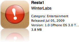 Resta1 na App Store