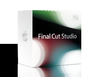 Caixa do Final Cut Studio (somente para miniatura)