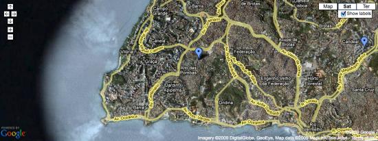 Mapa do Sinal 3G no Brasil