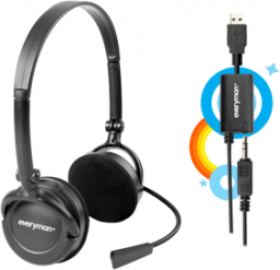 Headset Everyman da Skype