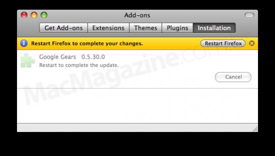 Google Gears 0.5.30.0