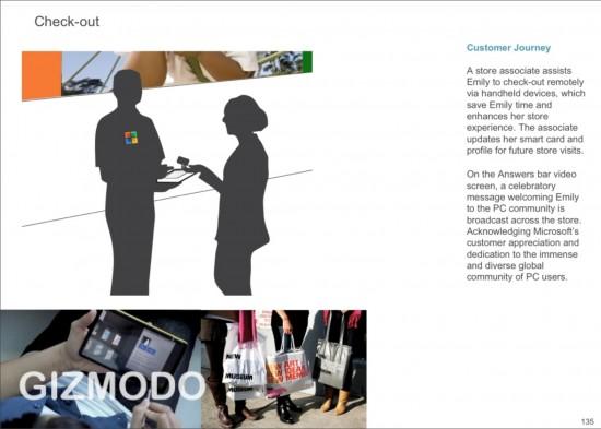 Slide sobre a Microsoft Store