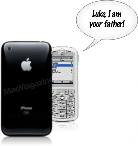 iPhone e ROKR