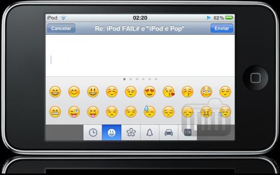 iPod touch FAIL Emoji