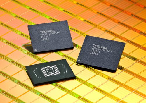 Memórias NAND flash da Toshiba