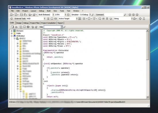 Alguém me explica a utilidade da árvore de pastas do Windows pra se escrever código. :-P