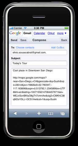 Gmail com Smart Links
