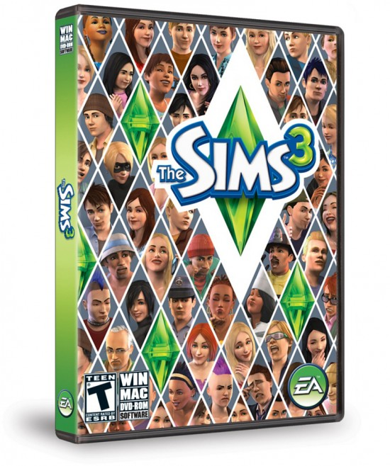 Caixa do The Sims 3 para Mac/PC