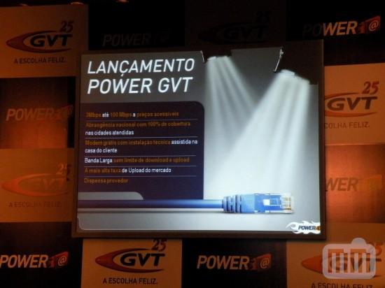 Coletiva do POWER GVT