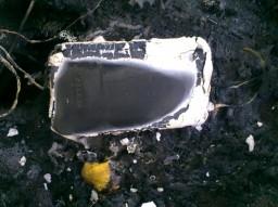 iPhone 3G queimado 2