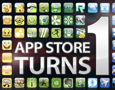 Um ano de App Store