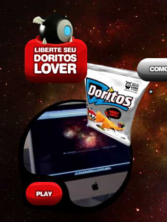 Mac é Pop Doritos Sweet Chili