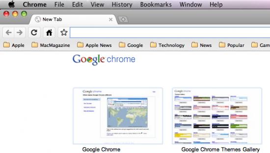 Temas no Google Chrome