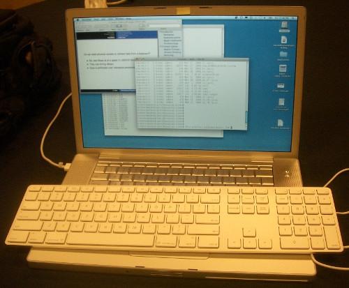 Apple Keyboard hackeado