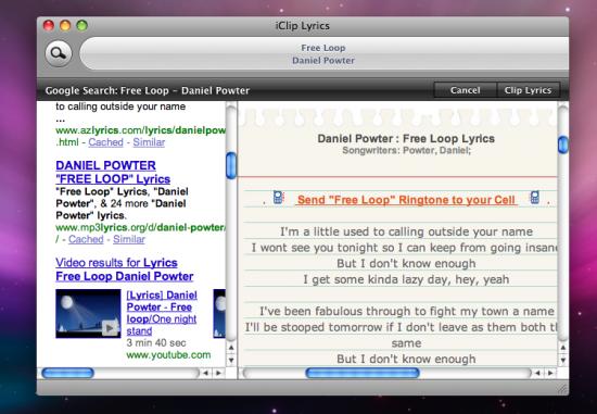 iClip Lyrics