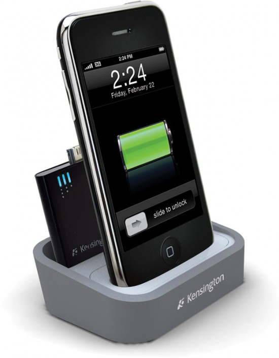 Kensington Charging Dock with Mini Battery Pack