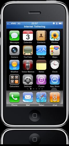 Vivo com tethering oficialmente no iPhone