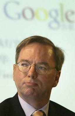 Eric Schmidt, presidente do Google