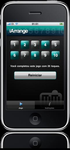 iArrange no iPhone