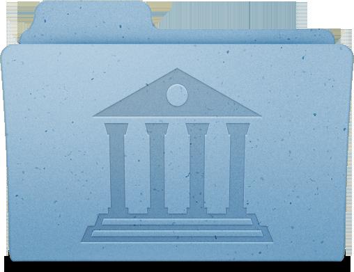 Ícone da pasta Biblioteca/Library do Mac OS X