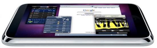 Mockup de Apple Tablet ou iTablet