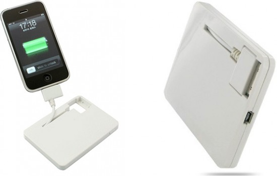 Ultra Slim (Card Type) Emergency Charger for iPod / iPhone