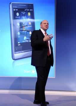 Steve Ballmer e Windows Mobile