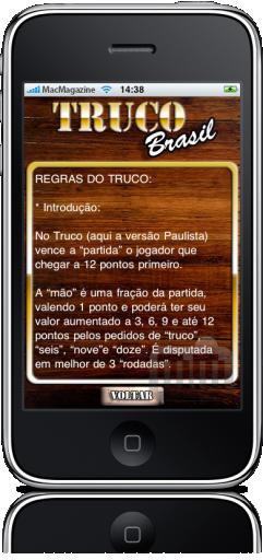 Truco Brasil no iPhone
