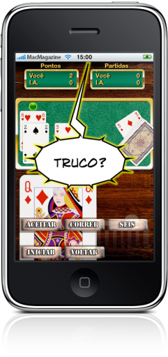 Truco Brasil no iPhone