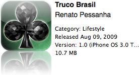 Truco Brasil na App Store