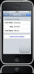 dLists no iPhone