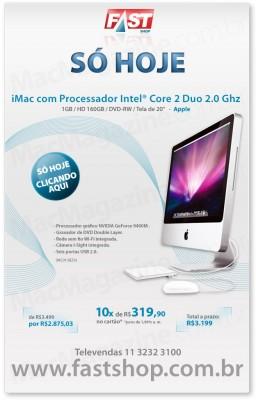 iMac em promoção na Fast Shop