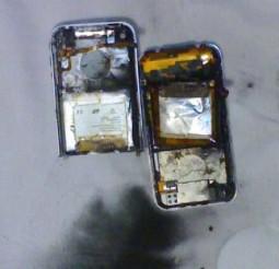 iPhone explodido