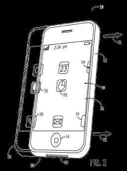 Patente de Compensação Motora para iPhones