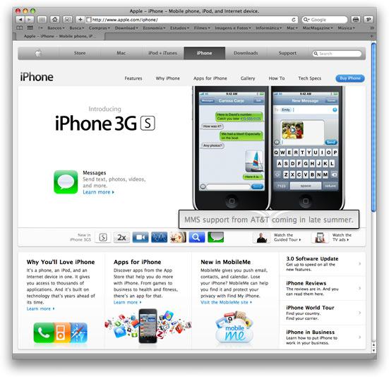 MMS no iPhone via AT&T