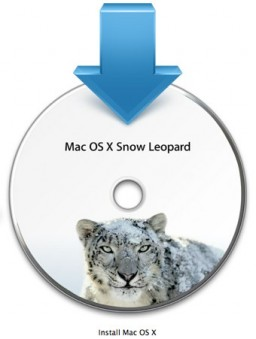 DVD Instalador do Snow Leopard