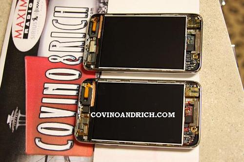 iPod touch 3G e 2G juntos