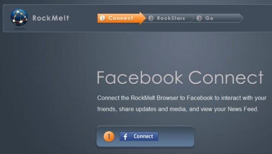 RockMeIt e Facebook