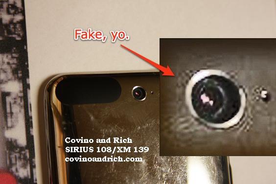 Câmera fake no iPod touch?