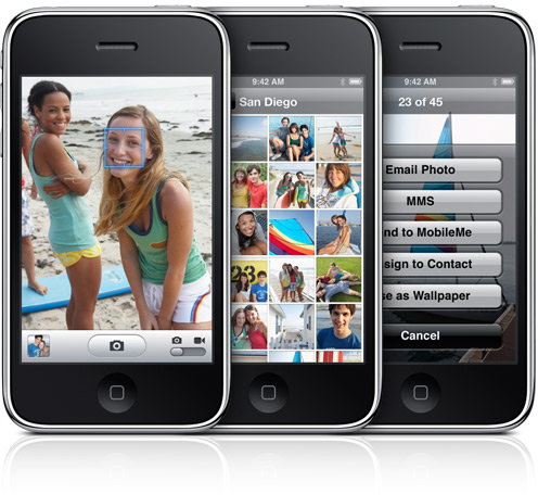 Câmera do iPhone 3GS