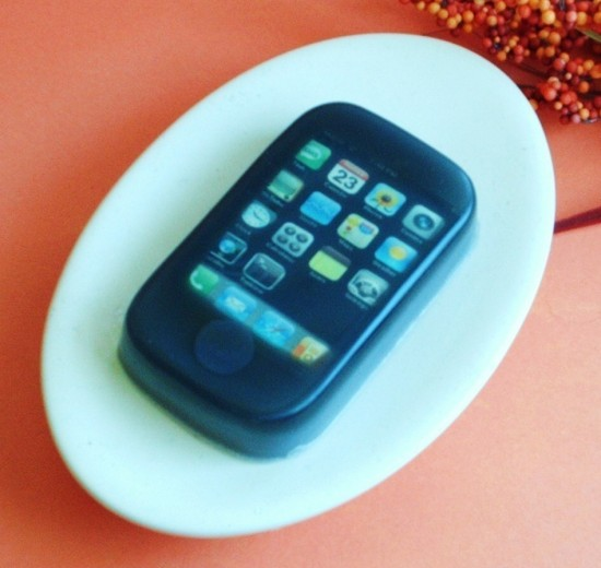 Sabonete de iPhone da Two Eggplant