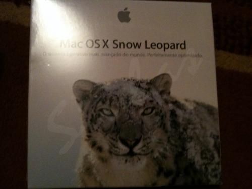 Caixa do Snow Leopard