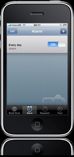 iPhone FAIL hora alarme