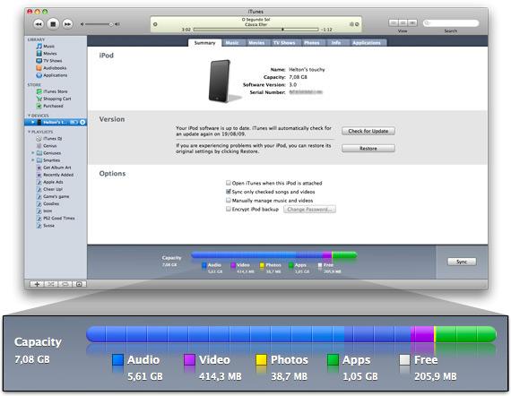 Mac FAIL iTunes memória